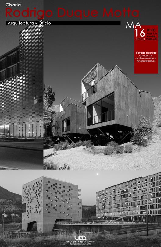 Ciclo 'Arquitectura y Oficio': Rodrigo Duque, ganador del ODA 2015