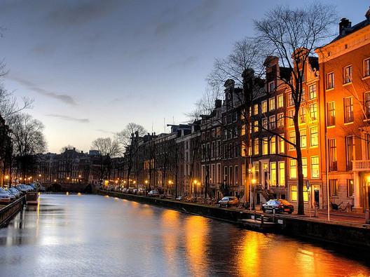 Amsterdam. Photo via Flickr CC User MarcelGermain.