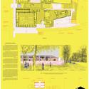 Lámina #02. Image Cortesia de Beals + Lyon Arquitectos