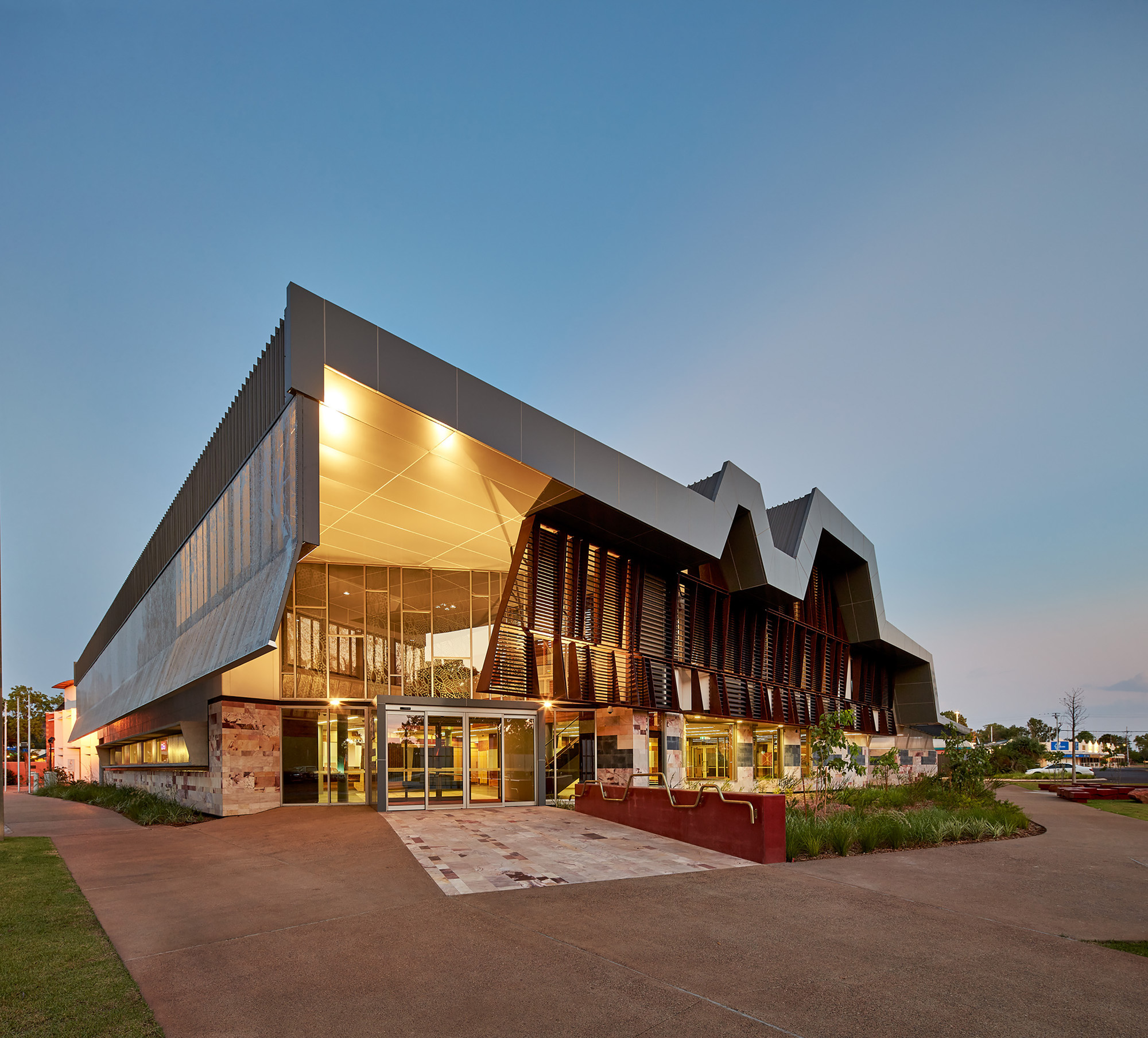 The New Kununurra Courthouse Tag Architects Iredale