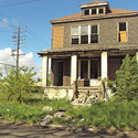 An abandoned Detroit house. Image © Wikimedia user Notorious4life