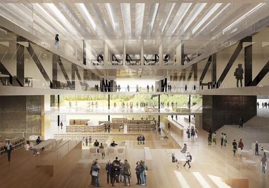 Courtesy of Mecanoo Architecten + Code Arkitektur + Buro Happold