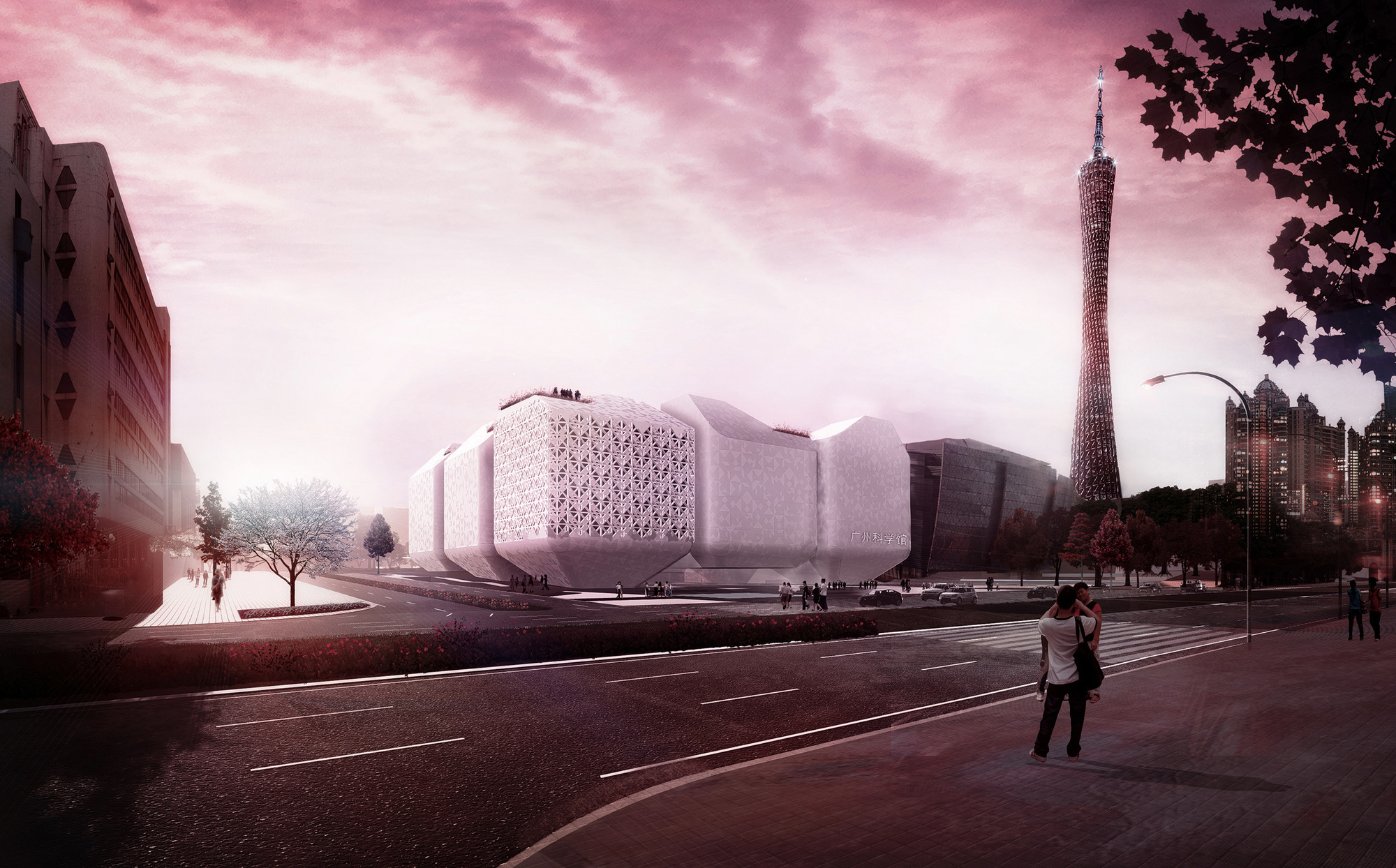 Nieto Sobejano Wins Competition to Design New Guangzhou Science Museum