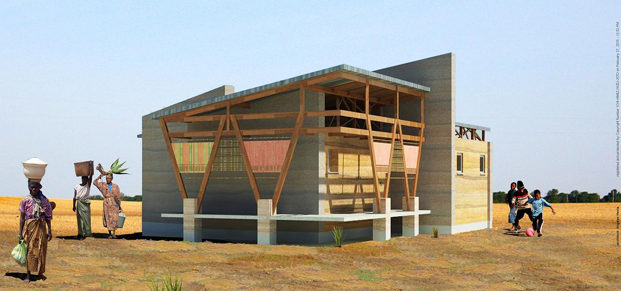 Proyecto Kente House: una arquitecta chilena buscando mejorar la vivienda en Ghana, Cortesia de Ángeles Hevia