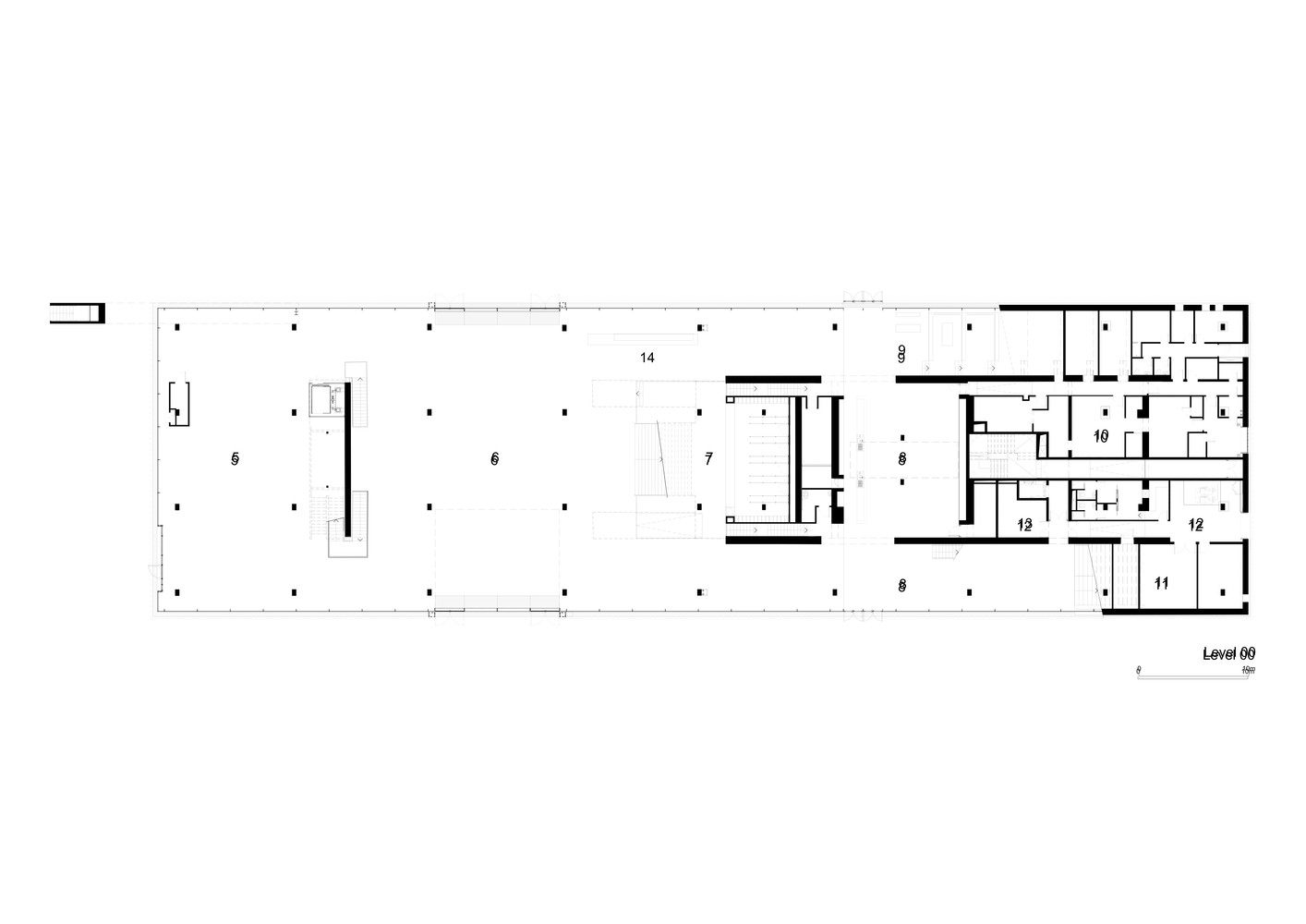 Garage Museum Of Contemporary Art,Ground Level Plan