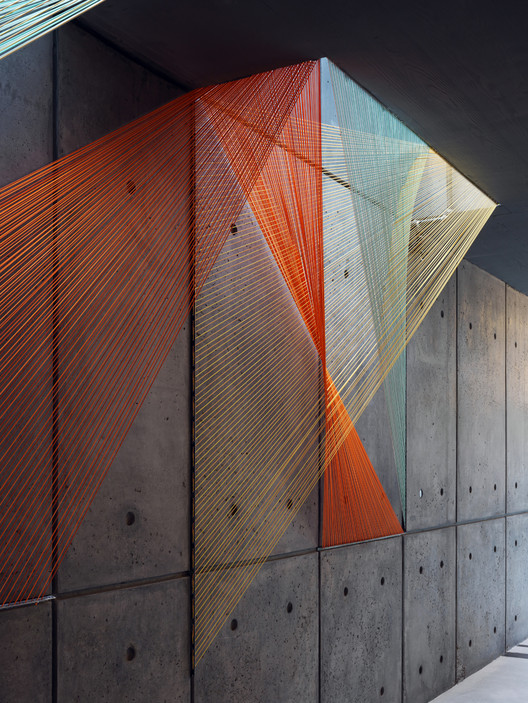 Inés Esnal's Prism Installation Brings Vivid Colors and Optical Illusions to NYC Lobby, Courtesy of Inés Esnal