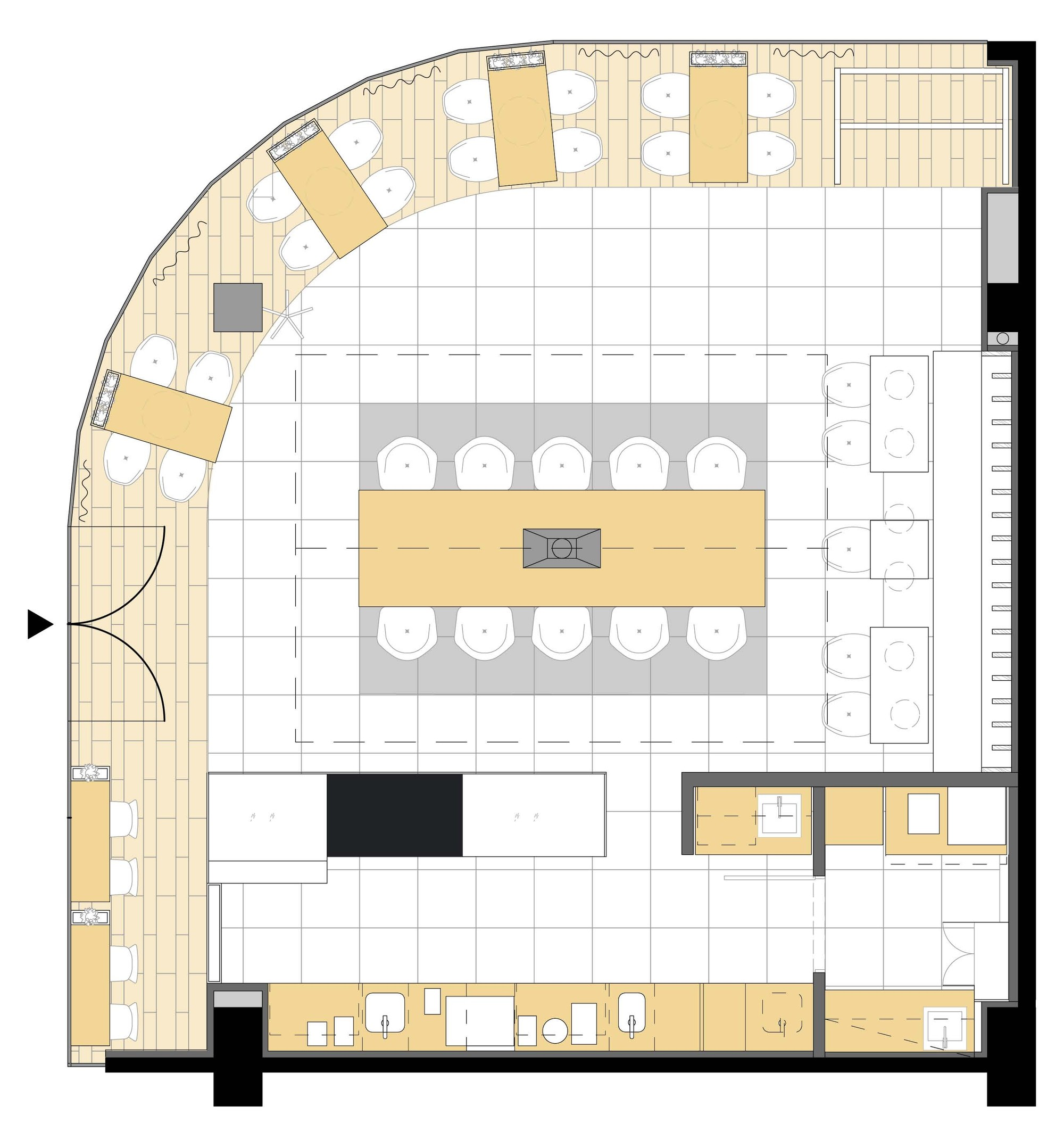 100 cafe floor plan and ps floor day care center for 100 floor 58