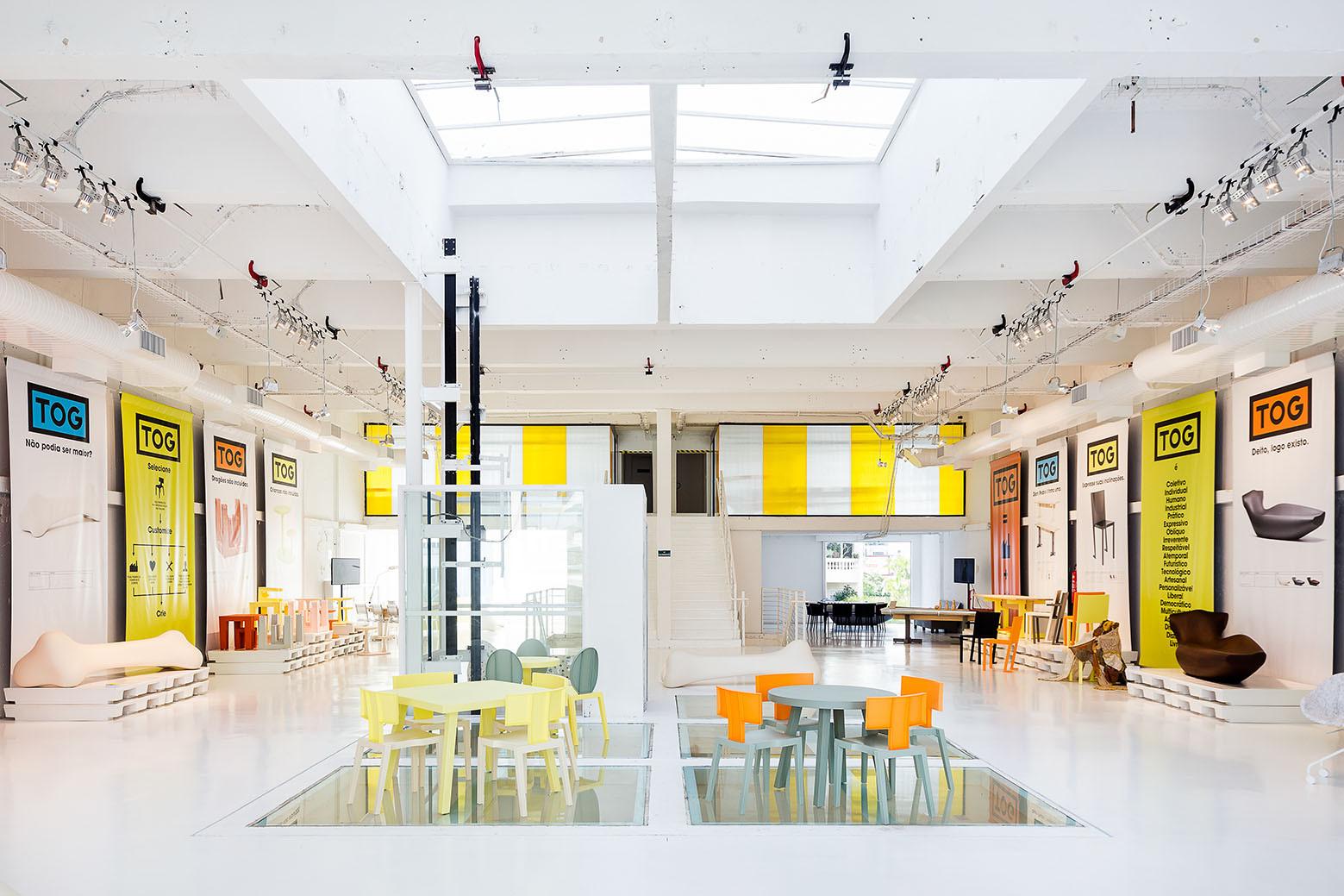 Tienda principal TOG / Triptyque + Philippe Starck, © Ricardo Bassetti