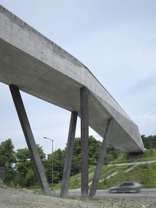 Passarela La Sallas / 2b architectes, © Roger Frei, Zurich