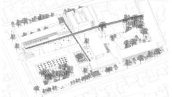 Baixas & del Río Arquitectos, segundo lugar en concurso de plan maestro del campus Lo Contador / Chile