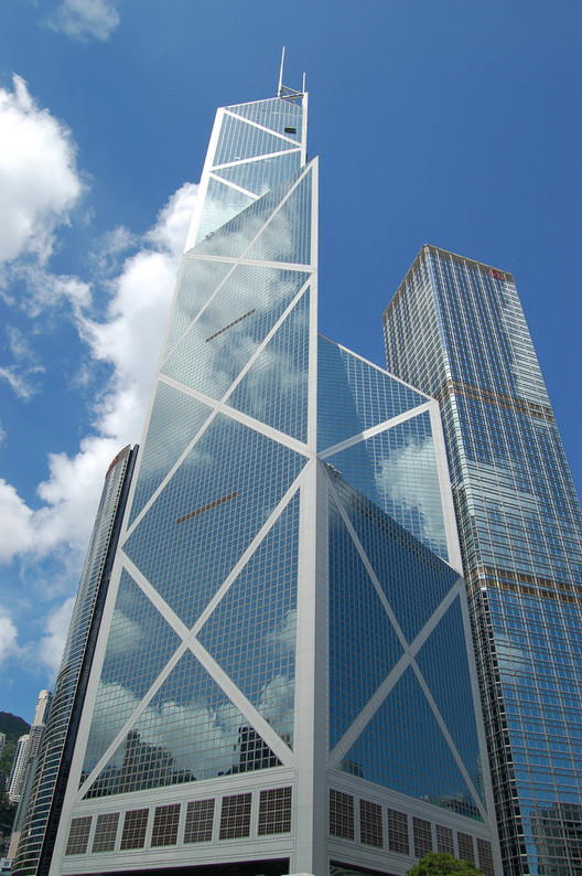 Bank of China Tower / I.M. Pei. Image © Stephen Chipp - http://www.flickr.com/photos/stephenchipp/