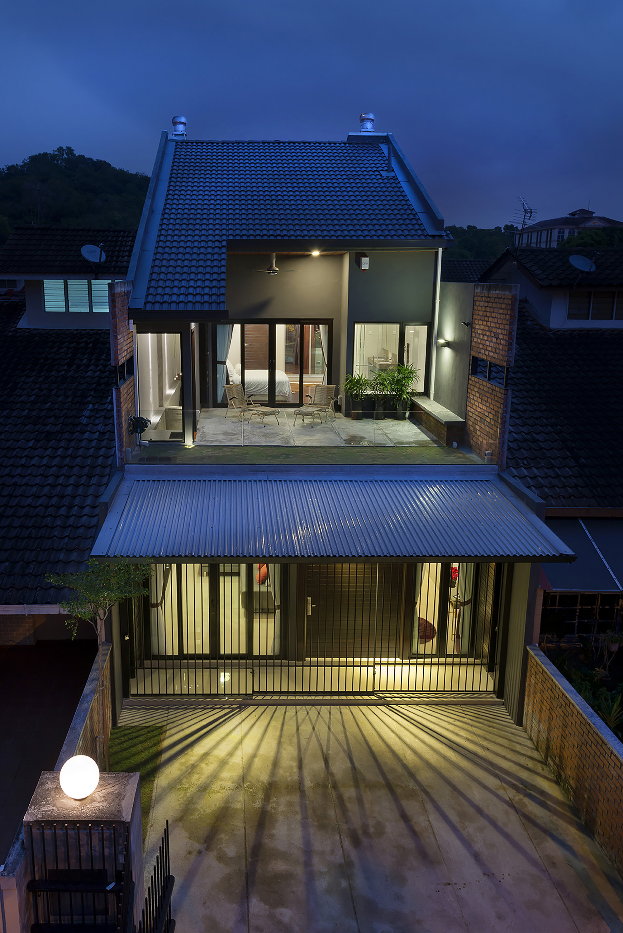 Gallery of 23 terrace drtan lm architect 7 for Terrace house singapore