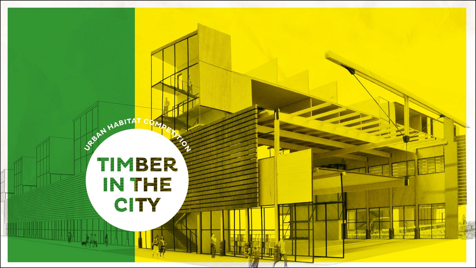 TIMBER IN THE CITY: Urban Habitats Competition 2015/2016, © ACSA