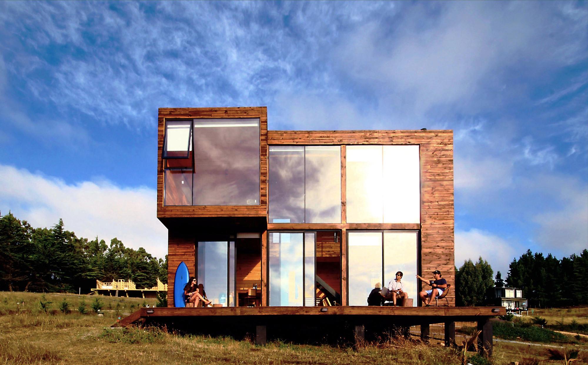 Galeria de casa h paarq arquitectos 15 for Casa de arquitectos