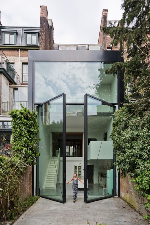 Town House in Antwerp / Sculp[IT], © Luc Roymans