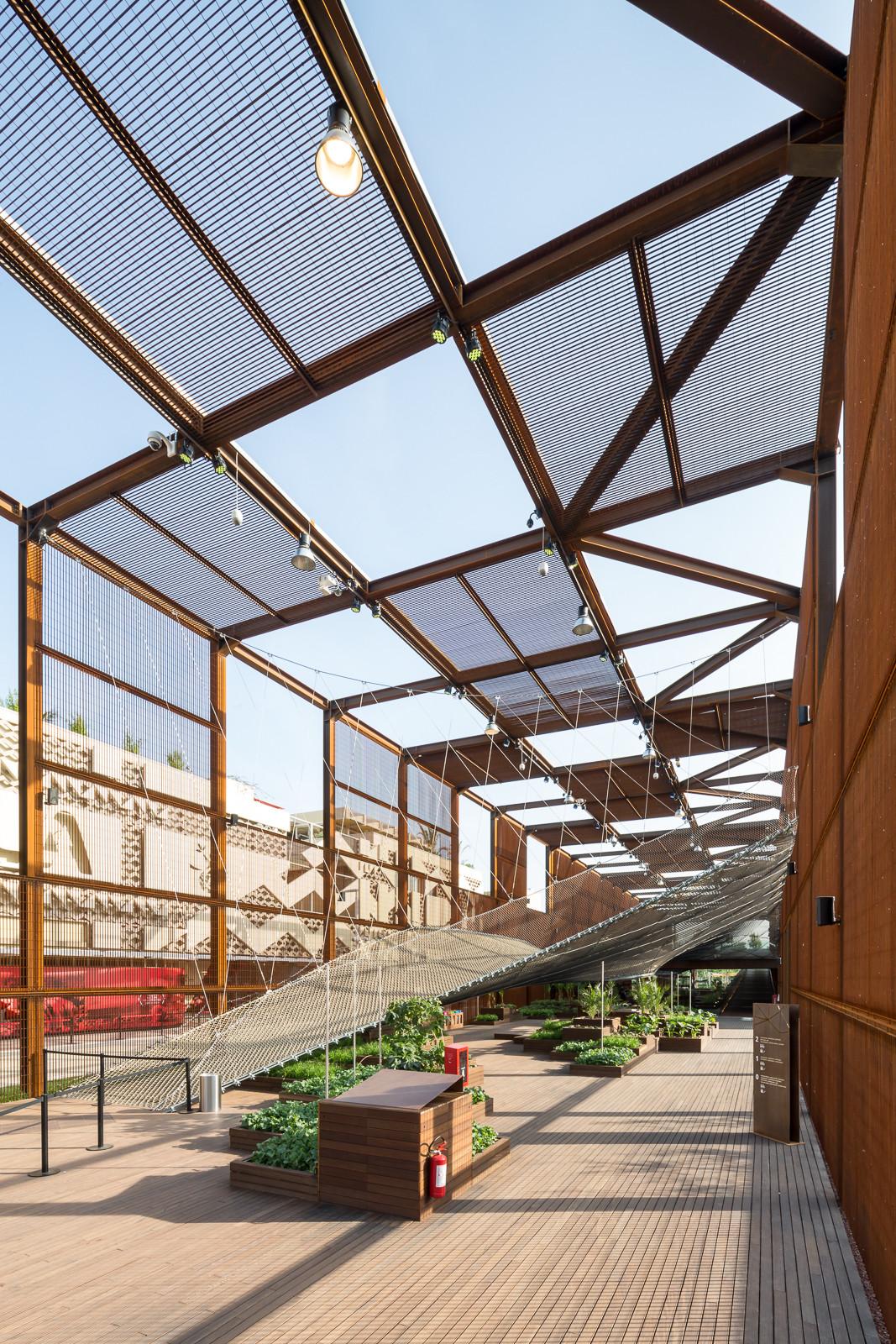 Gallery of brazil pavilion milan expo 2015 studio - Cubiertas para casas ...