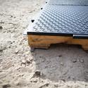 Module on Wood Pallet. Image Courtesy of Emergency Floor