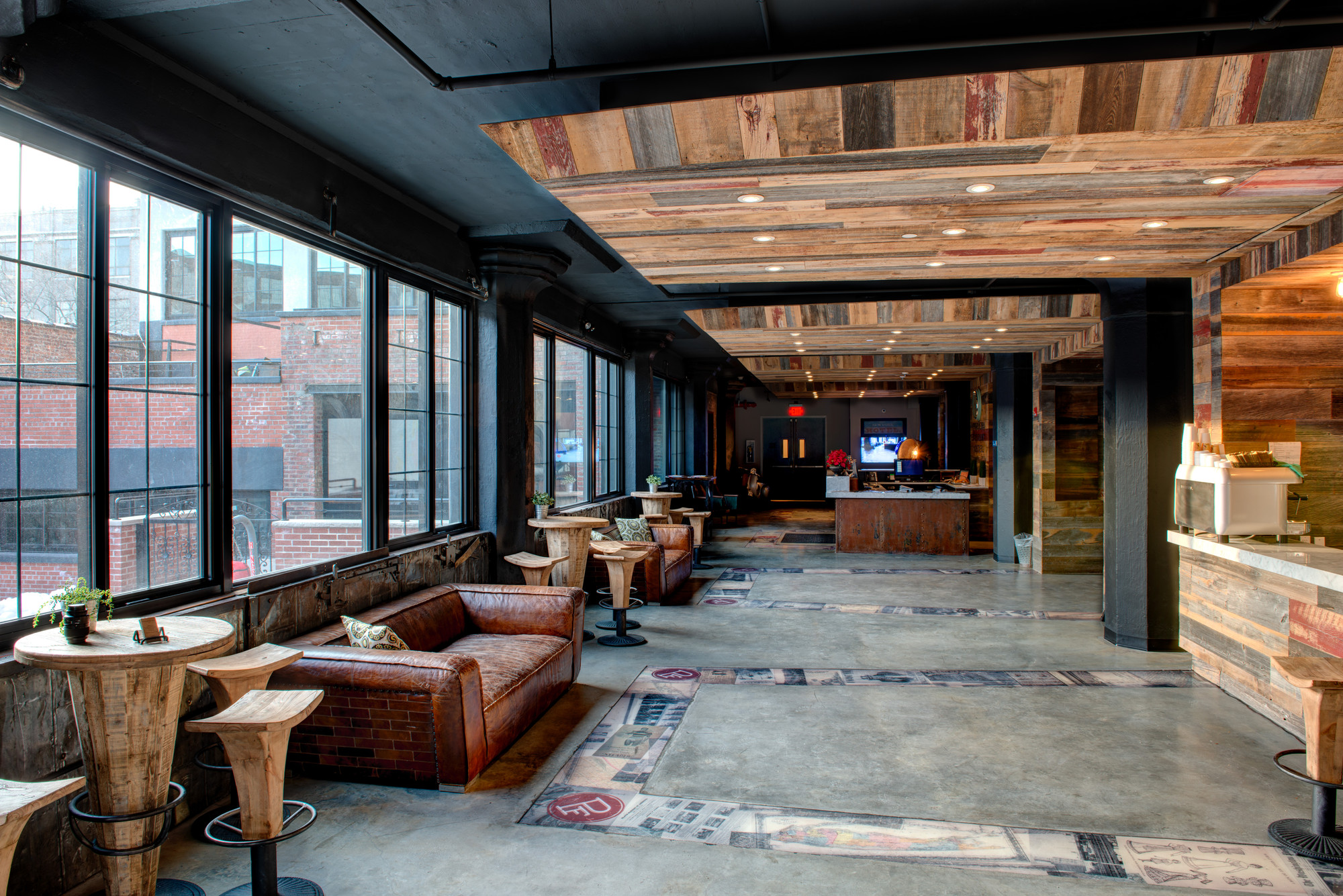 Gallery of the paper factory hotel dhd architecture for Design hotels nyc