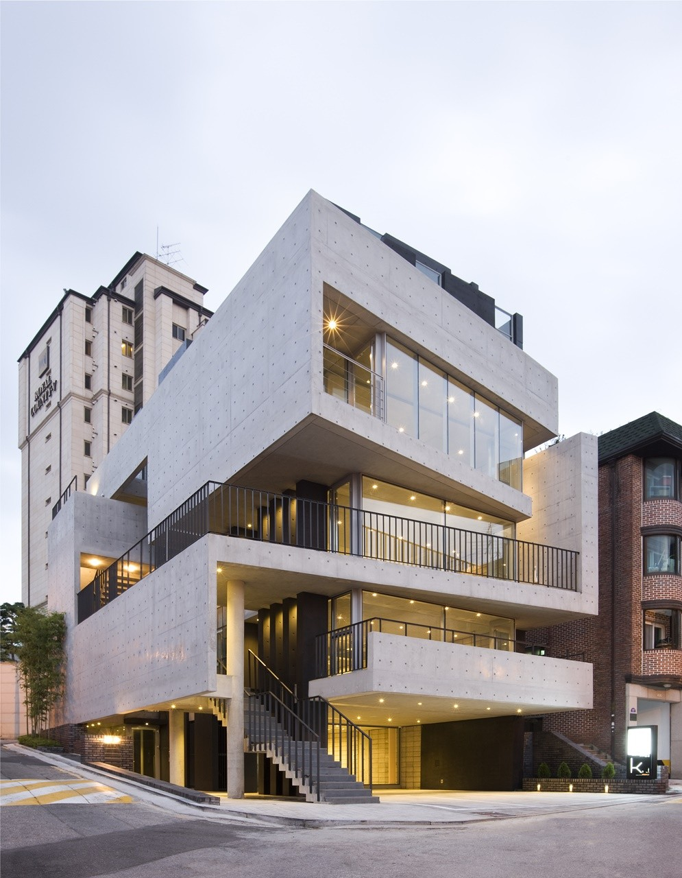 Marble Green Commercial Building Exteriors : Bati rieul l eau design archdaily