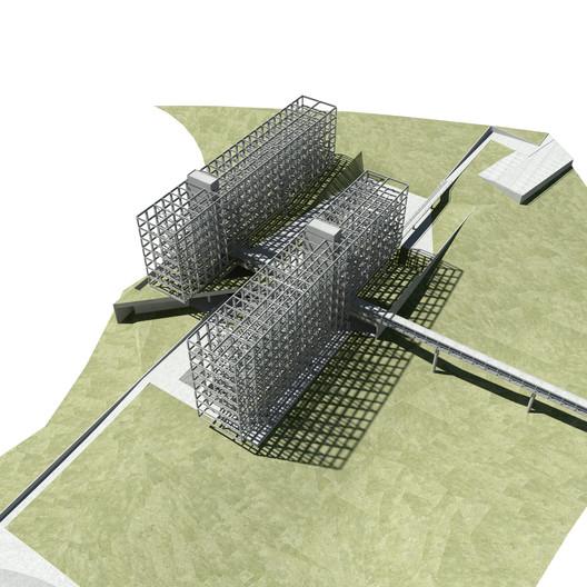 Isométrica 2. Image Cortesia de Zanatta Figueiredo + Talita Broering