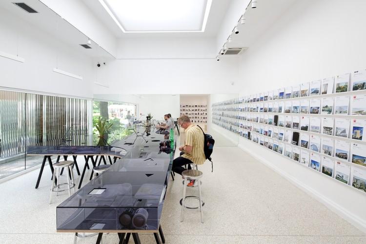 """""""A imaginação arquitetônica"""" é escolhida como tema do Pavilhão dos EUA para a Bienal de Veneza 2016, The U.S. Pavilion at the 2014 Venice Biennale. Image © Nico Saieh"""