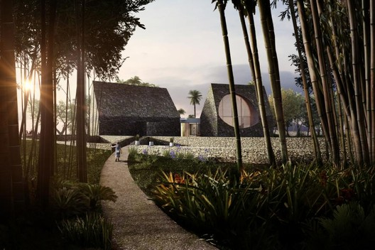 A Home With Many Moons / CAZA. Image Courtesy of WAF