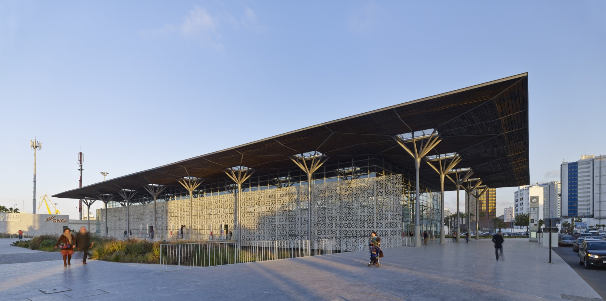 Casa Port Railway Station Arep Archdaily