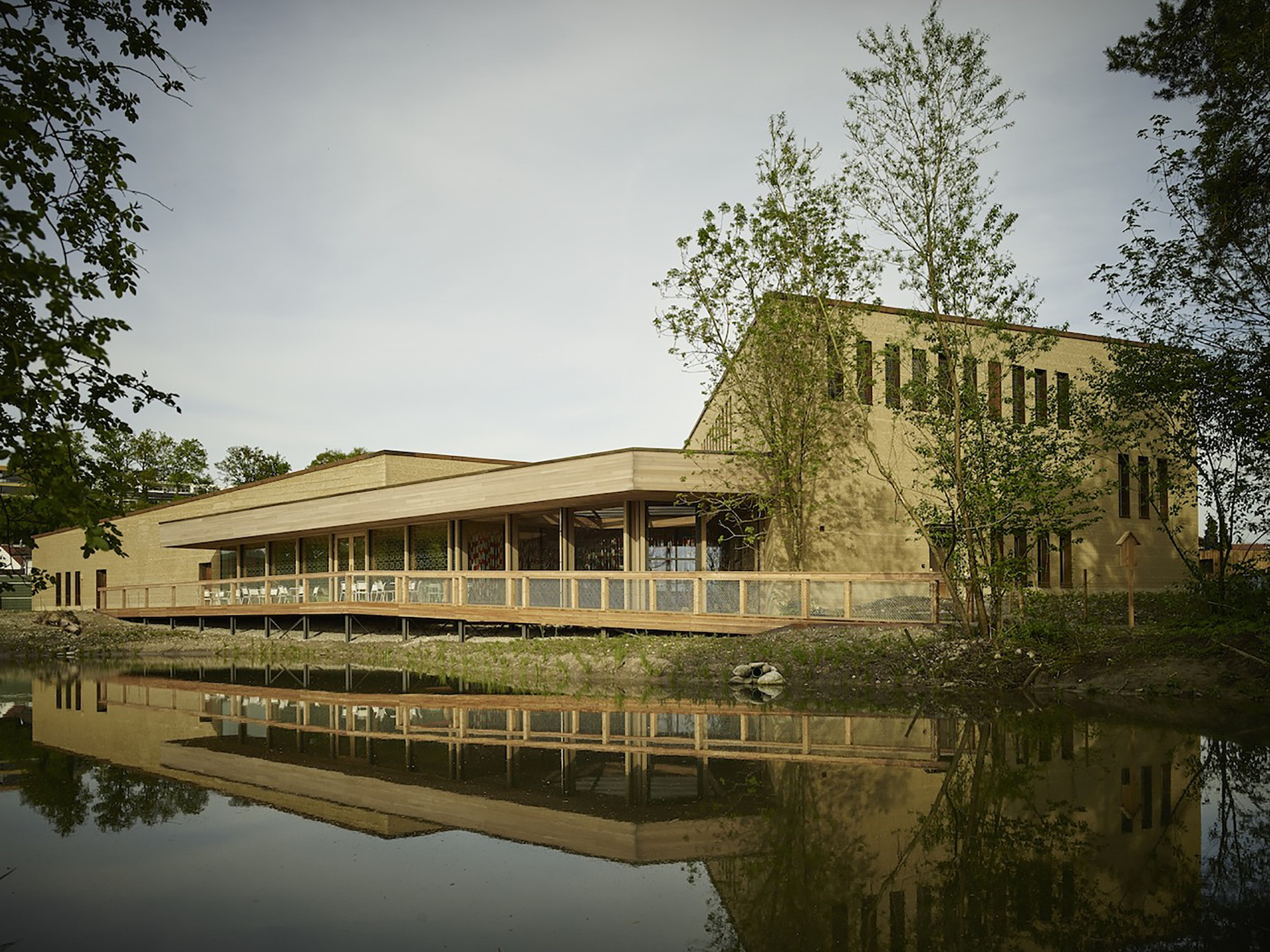 Visitor Centre at the Swiss Ornithological Institute / :mlzd, © Alexander Jaquemet