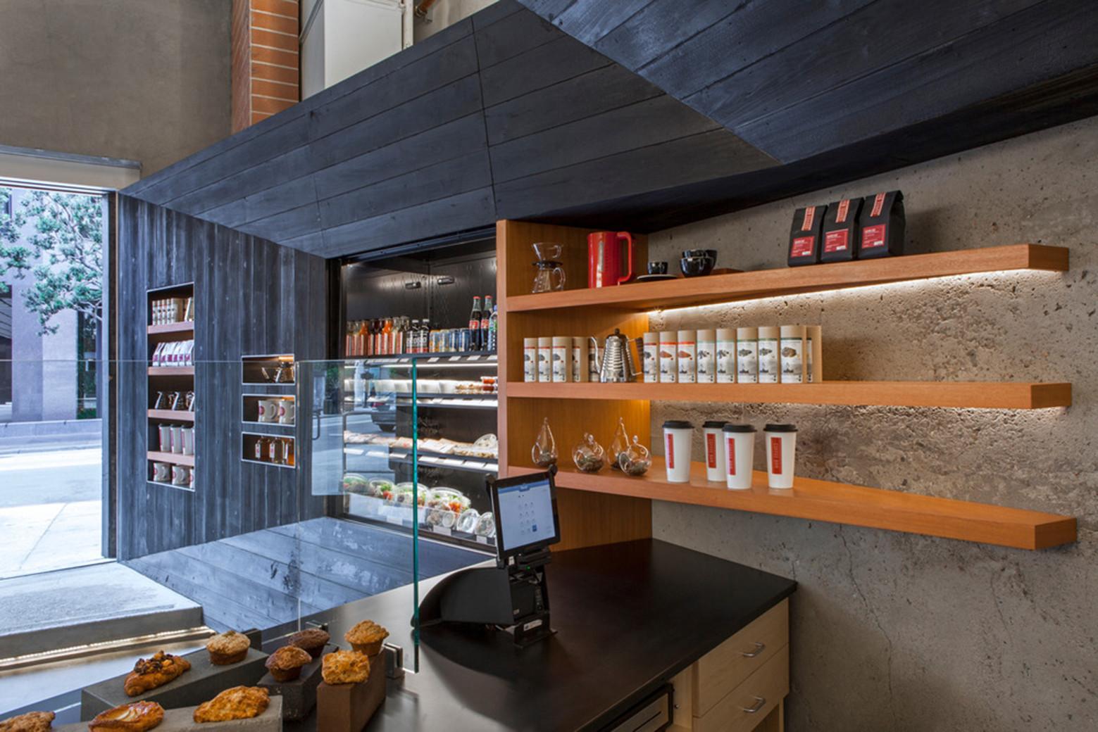 Gallery of coffee bar kearny jones haydu 3 for Garage paris bar