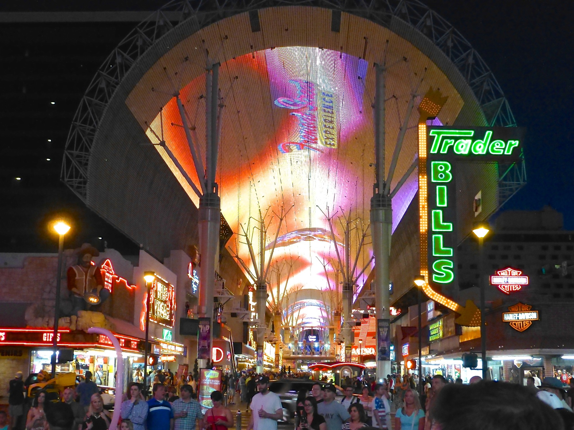 Fremont Street Experience in Downtown Las Vegas