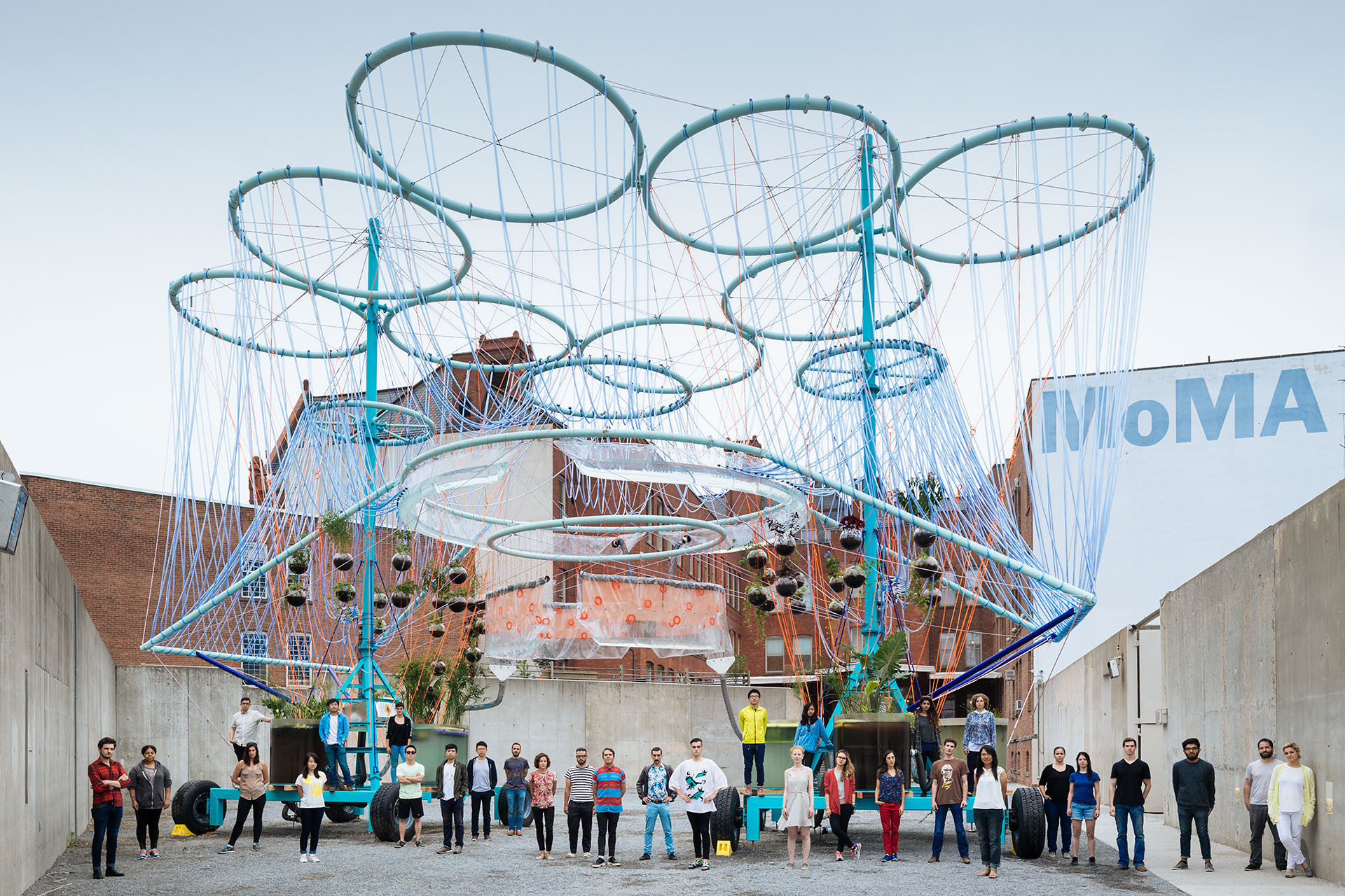 MoMA PS1 YAP 2015 - COSMO / Andrés Jaque / Office for Political Innovation, © Miguel de Guzmán