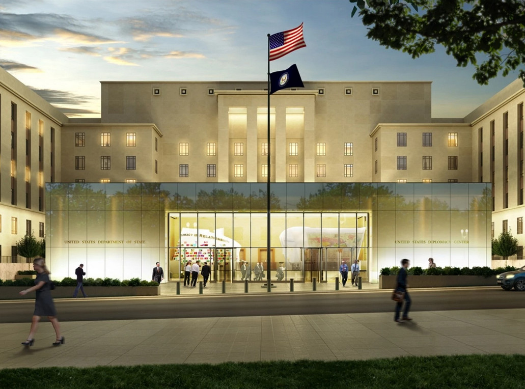 Images Released of Beyer Blinder Belle-Designed U.S. Diplomacy Center, © U.S. Diplomacy Center