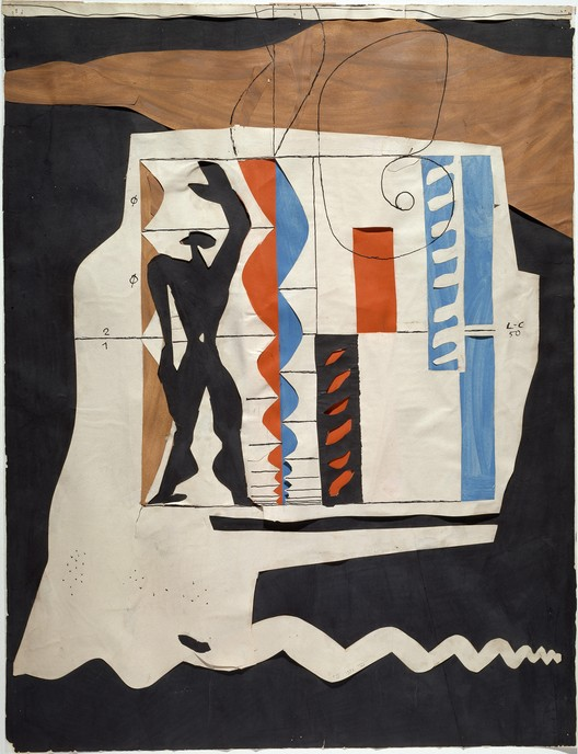 "Pompidou Centre Hosts ""Le Corbusier: The Measures of Man"" Exhibition, Le Modulor. Image Courtesy of Centre Pompidou / Dist. RMN-GP/ Ph. Migeat; © FLC, ADAGP, Paris 2015"