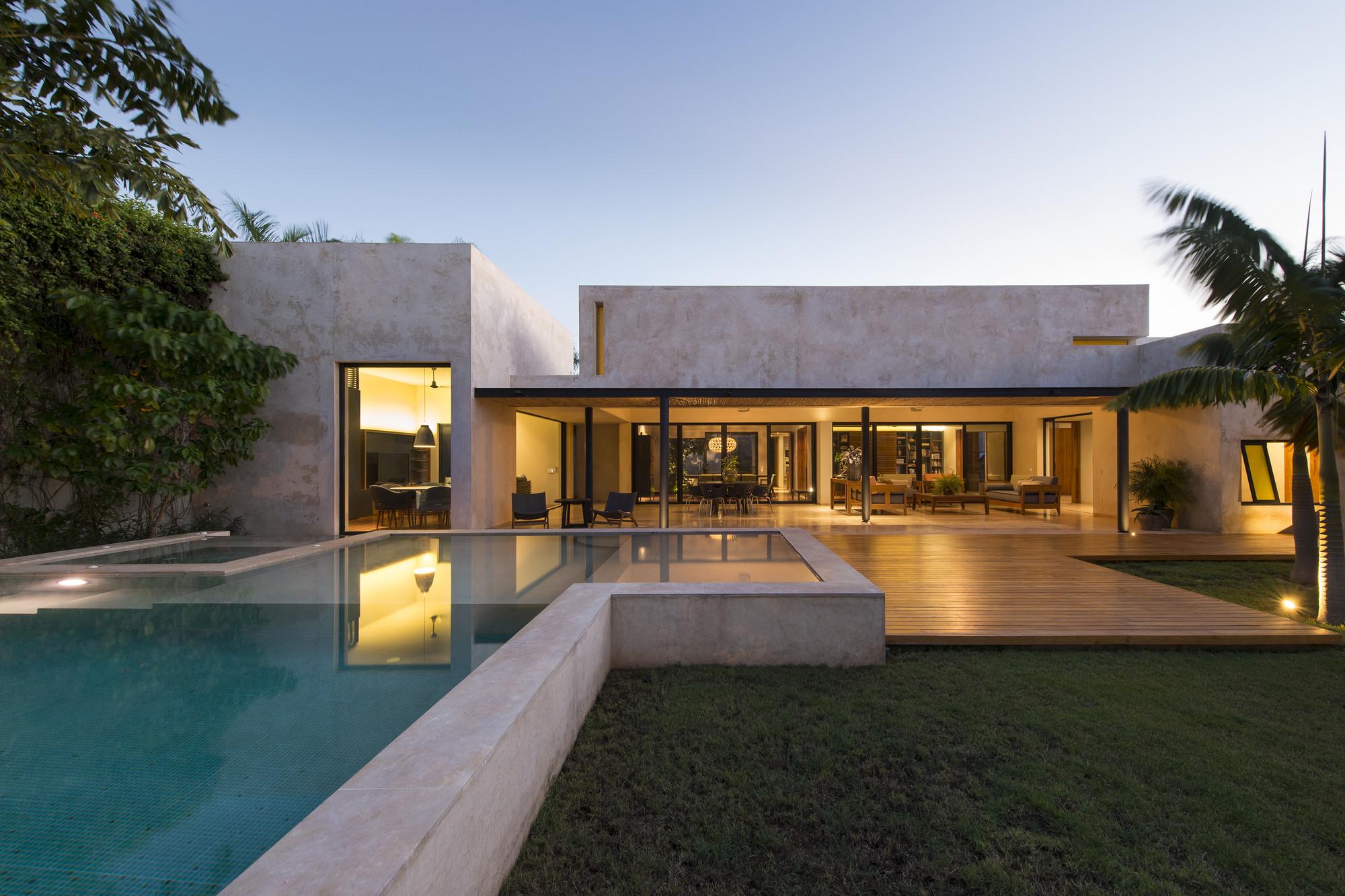 Casa Gd Reyesrios Larra 237 N Arquitectos Plataforma