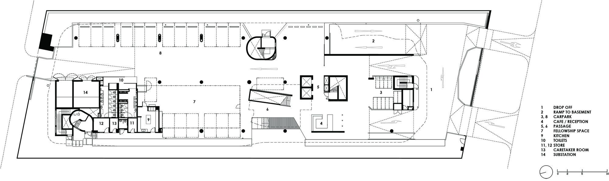 Vintage First Floor Plan