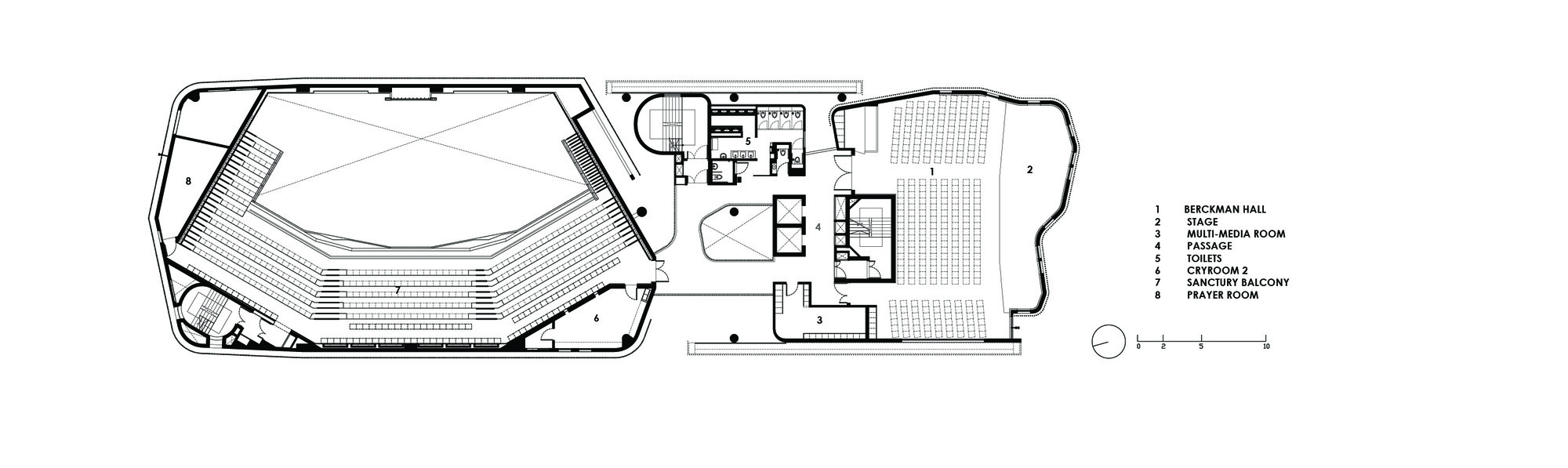 Christ Methodist Church K2ld Architects 12 16 Third Floor Plan