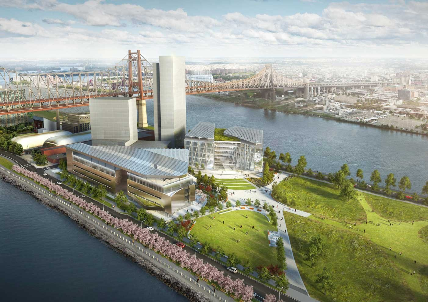 Sustainability on Roosevelt Island: How Morphosis and Arup Are Making Cornell's Bloomberg Center Net Zero, © Cornell University / Kilograph