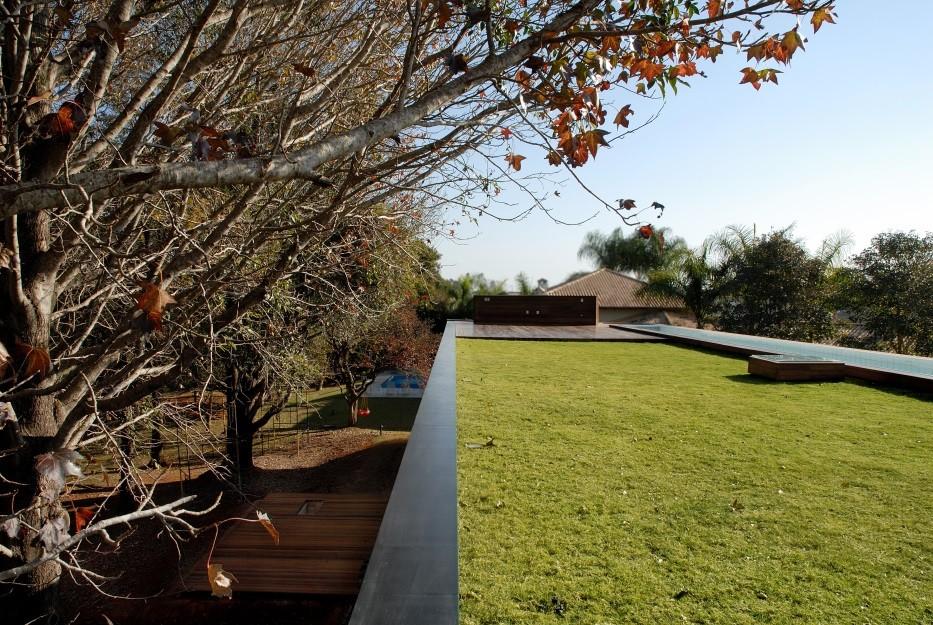Soluções de telhado verdes para edifícios sustentáveis, Telhado Verde. Image © Ecotelhado