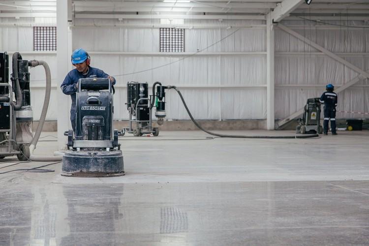 Materiales: pulido de pavimentos de Hormigón