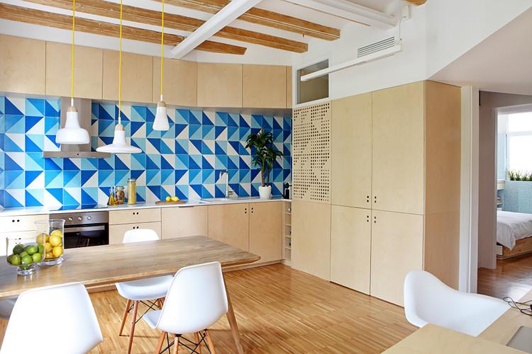 Apartment Pujades11 / Miel Arquitectos + Studio P10, © Asier Rua
