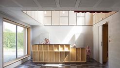 Salón Comunitario en Saint Pierre des Bois / Boidot & Robin Architects