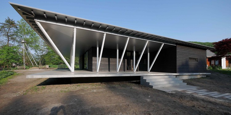 Salón Karinnpani / Kawahito architects, © Hiroshi Kawahito