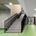 sports hall at schuldorf bergstrasse loewer partner architekten archdaily. Black Bedroom Furniture Sets. Home Design Ideas