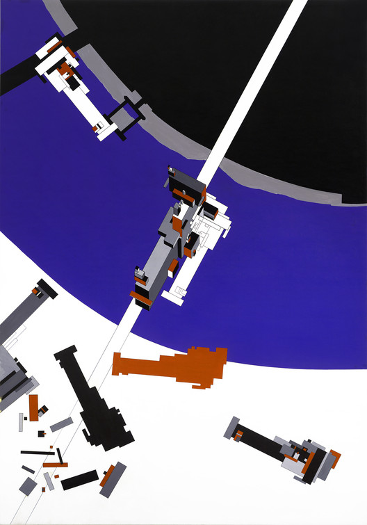 Exhibition: Zaha Hadid at The State Hermitage Museum, Malevich's Tektonik (1976-77). Image Courtesy of Zaha Hadid Architects