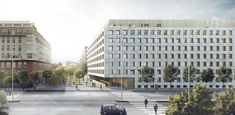 Bakpak architects ignacio de la pe a mu oz segundo for Oficinas solvia madrid