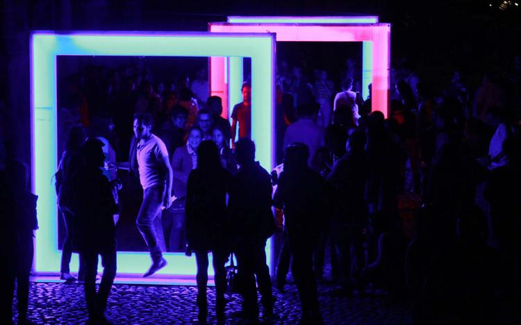 Mind The Light, una instalación efímera de luz en México D.F por artec3 Studio, © artec3 Studio