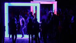Mind The Light, una instalación efímera de luz en México D.F por artec3 Studio