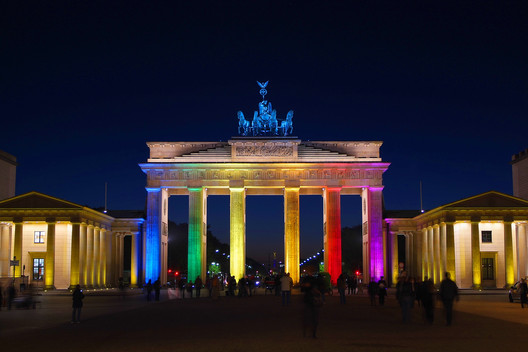 Brandenburg Gate © mato via Shutterstock.com  Beacons of Pride: #LoveWins in These Illuminated Buildings Brandenburg Gate  C2 A9 mato via shutterstock