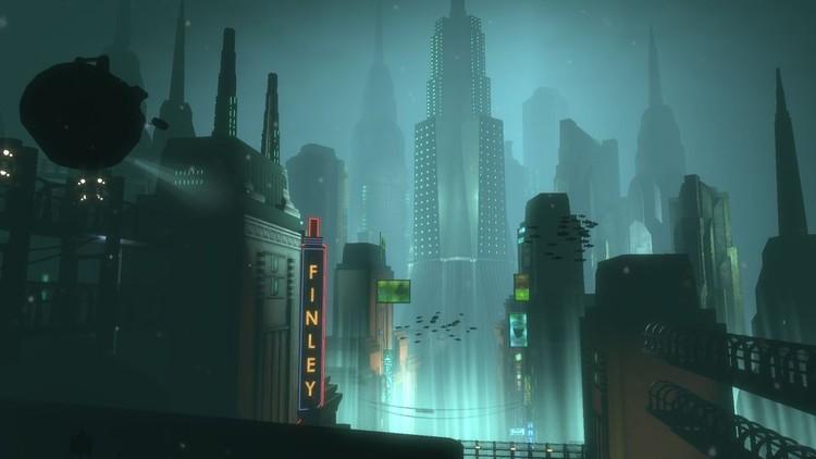 La ciudad Rapture en Bioshock. Imagen via bioshock.wikia.com
