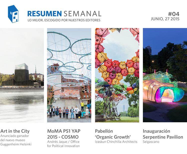 Resumen Semanal: el veredicto del Guggenheim Helsinki y una semana dorada para la arquitectura española
